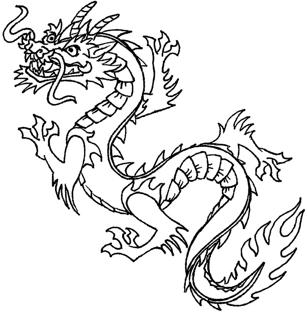 Best Dragon Coloring Pages For Adults Library Free Coloring Book