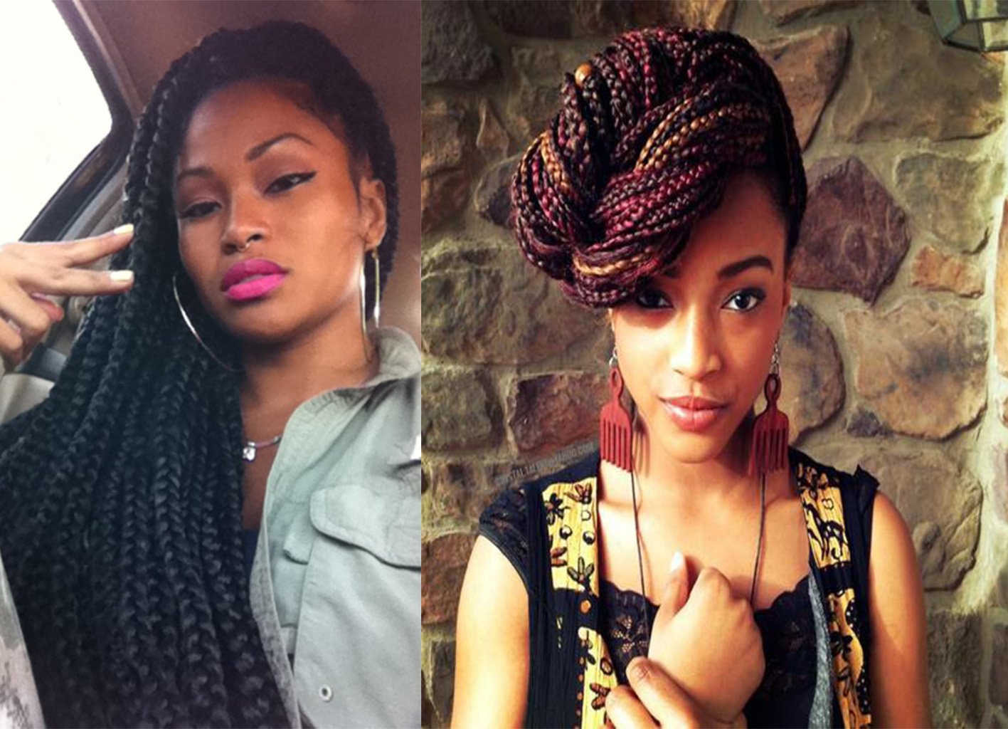 lyn loves the benefits of box braids