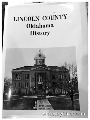 Lincoln County Oklahoma History Book