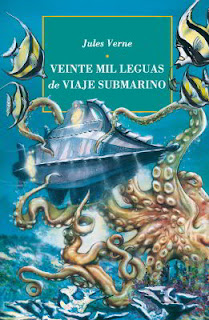 Portada libro completo veinte mil leguas de viaje submarino descargar pdf gratis