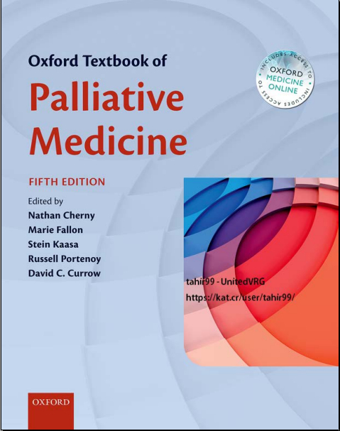 Oxford Textbook of Palliative Medicine 5th Edition 2015 [PDF]