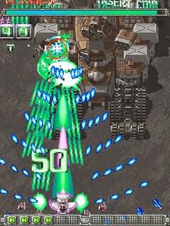 Ketsui: Kizuna Jigoku Tachi+arcade+game+bullet hell+portable+videojuego+descargar gratis
