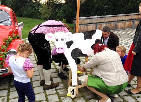 Kuh Melken Spiel