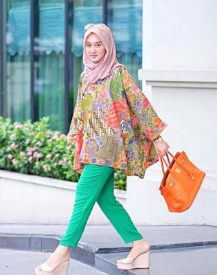 32+ Koleksi Baju Batik Muslim 2018: Modern Terbaru