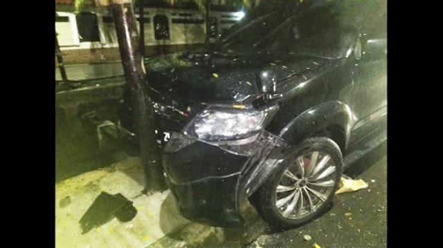 """Kejanggalan Dalam """"Kecelakaan"""" Mobil Setnov"""