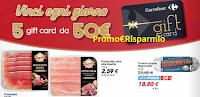 Logo Concorso ''Il Piacere Quotidiano'': vinci 65 Gift card Carrefour da 50€