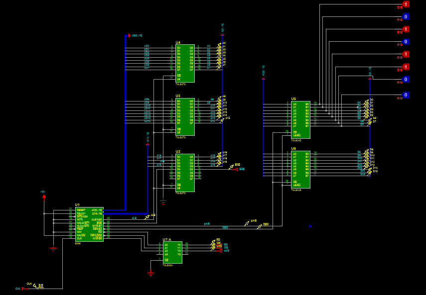 8086 Microprocessor simulation with Proteus ISIS | Software