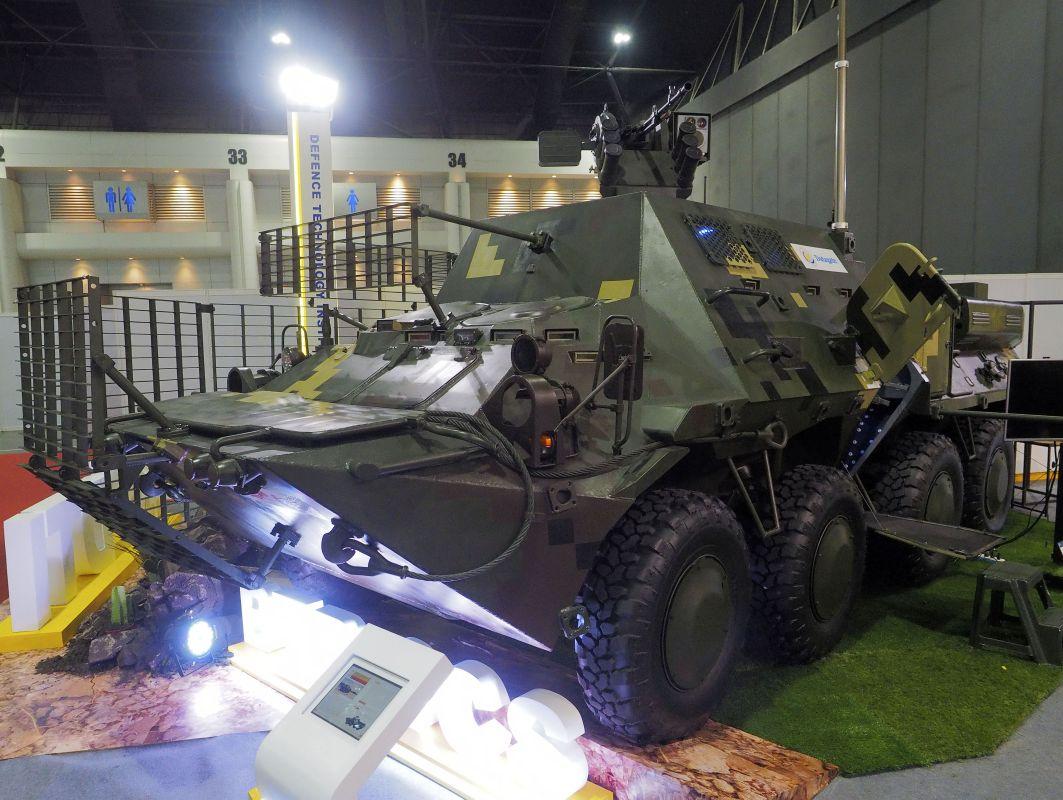 D&S 2019: Таїланд презентував на виставці BTR-3CS