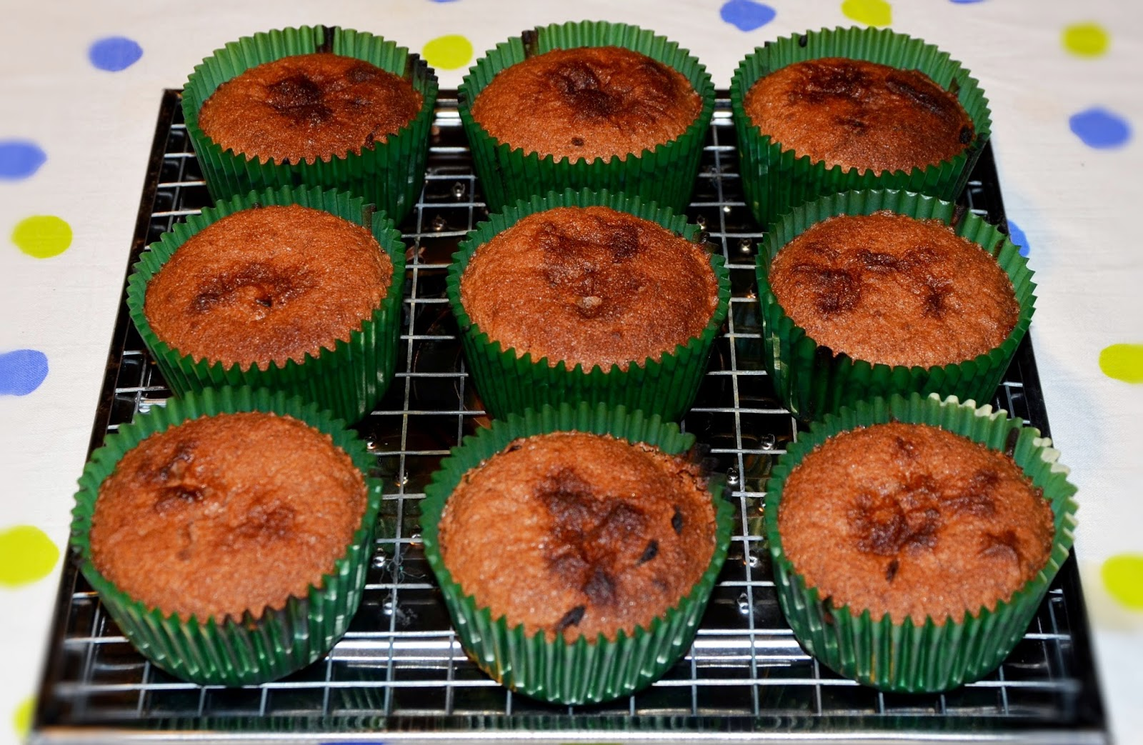 Bezglutenowe muffinki Cuba Libre