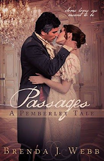 Book cover: Passages - A Pemberley Tale by Brenda Webb