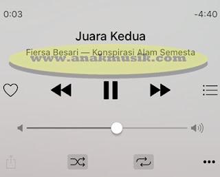 Lirik Lagu & Kunci Gitar Fiersa Besari - Juara Kedua