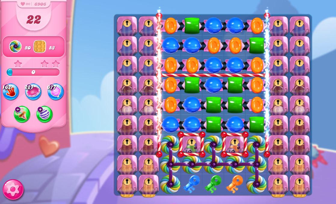 Candy Crush Saga level 6906