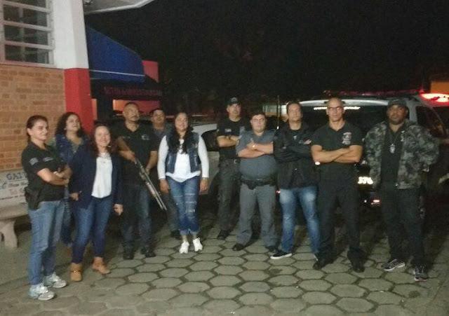 Operação em Conjunta das Policias Civil e Militar e do Conselho Tutelar em Iguape