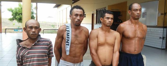 Seis pessoas são presas pelas Policias Civil e Militar em Água Doce do MA