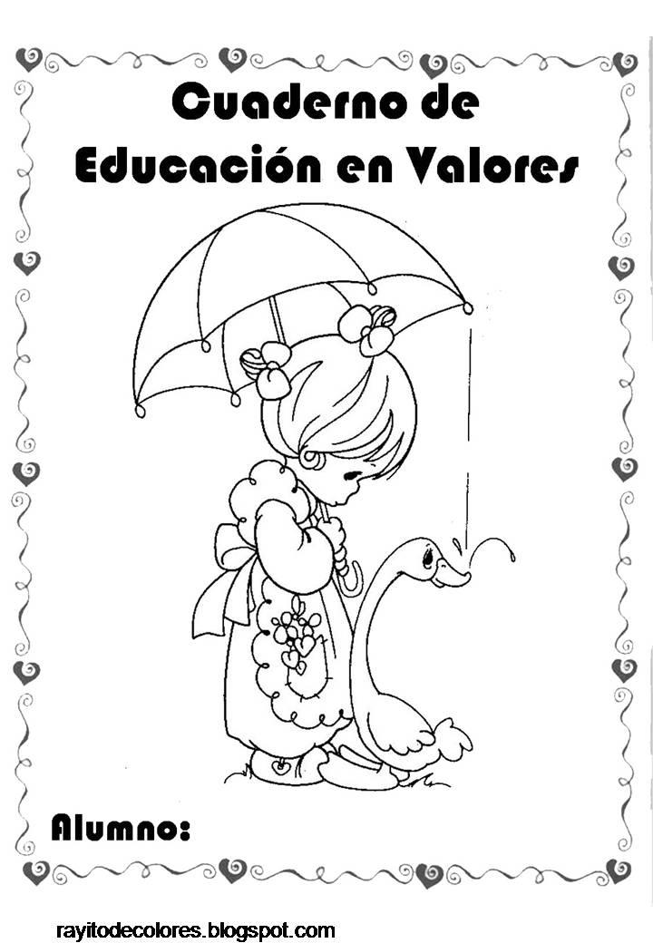 Rayito De Colores Carátulas De Precious Moments