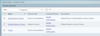Cisco ACS setting policies