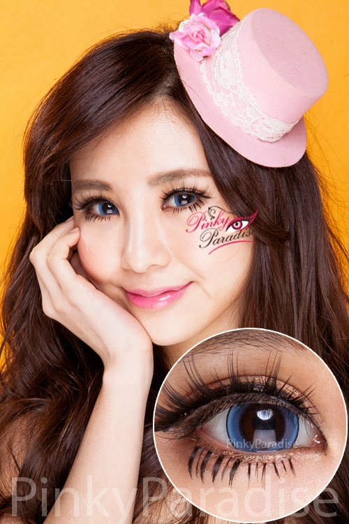 Princess Pinky Eclipse Blue Circle Lenses (Colored Contacts)