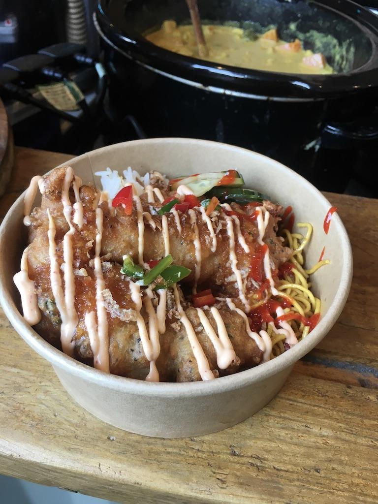 Sai Bhudda Belly at Digbeth Dining Club, Thai style food made in Birmingham