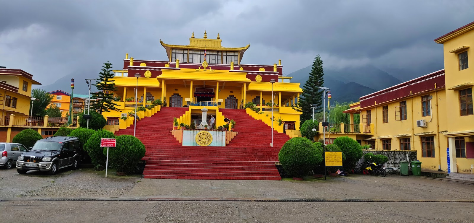 Trip to Mcleodganj and Dharamshala- Gyuto Monastery