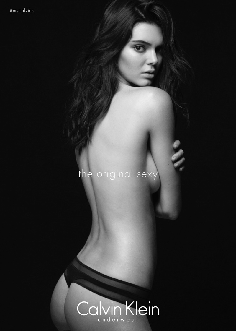 Kendall Jenner shows pert derrière for the Calvin Klein 'Original Sexy' Campaign