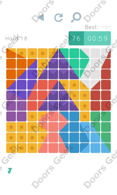 Cheats, Walkthrough for Blocks and Shapes Hard Level 18