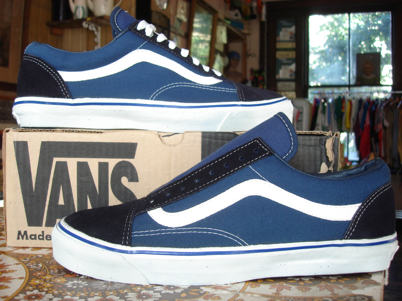 8b7c66af89 Buy vans old skool original navy