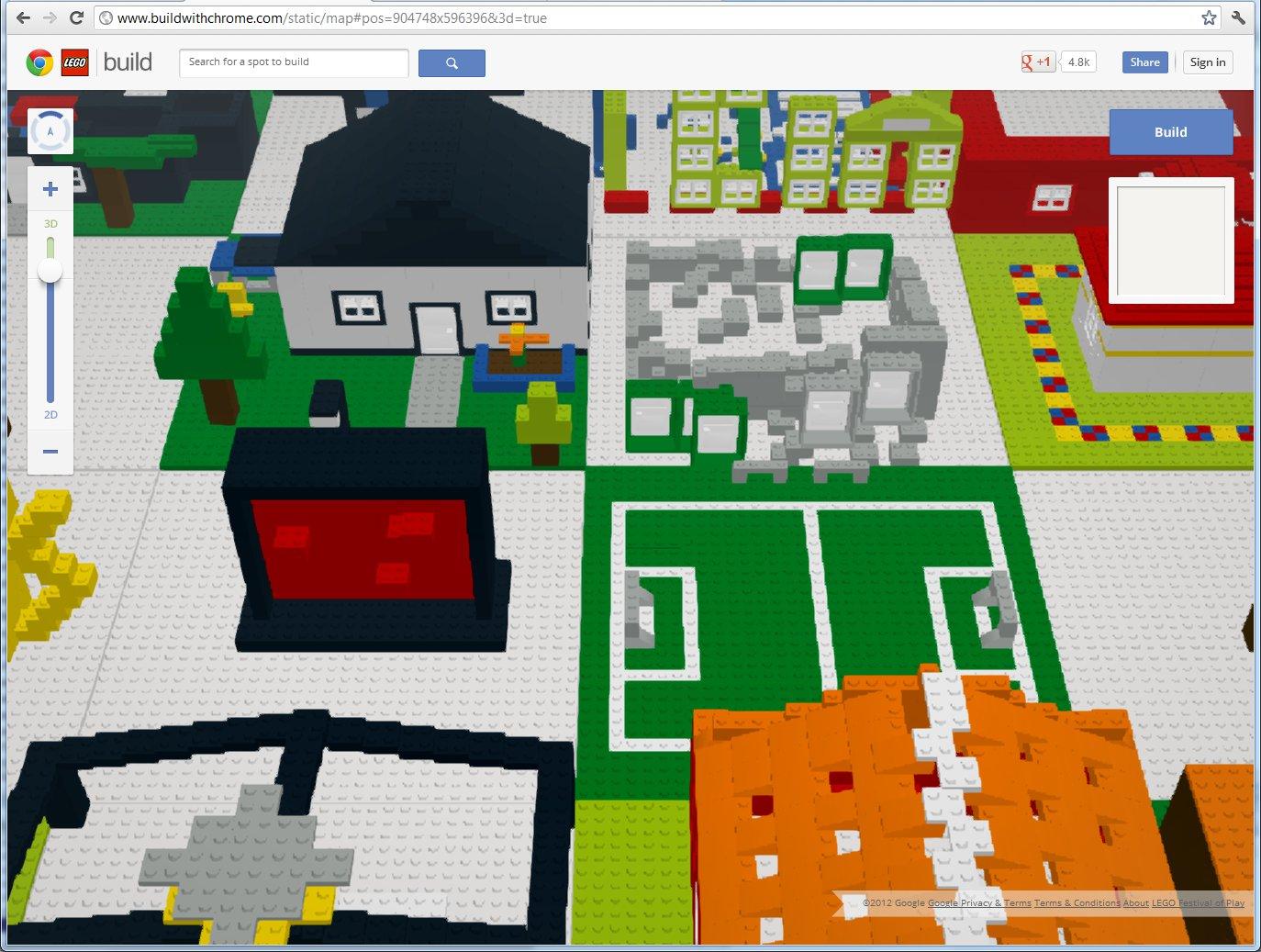 Still Plays With Bricks - A Lego fan blog: Build with Chrome