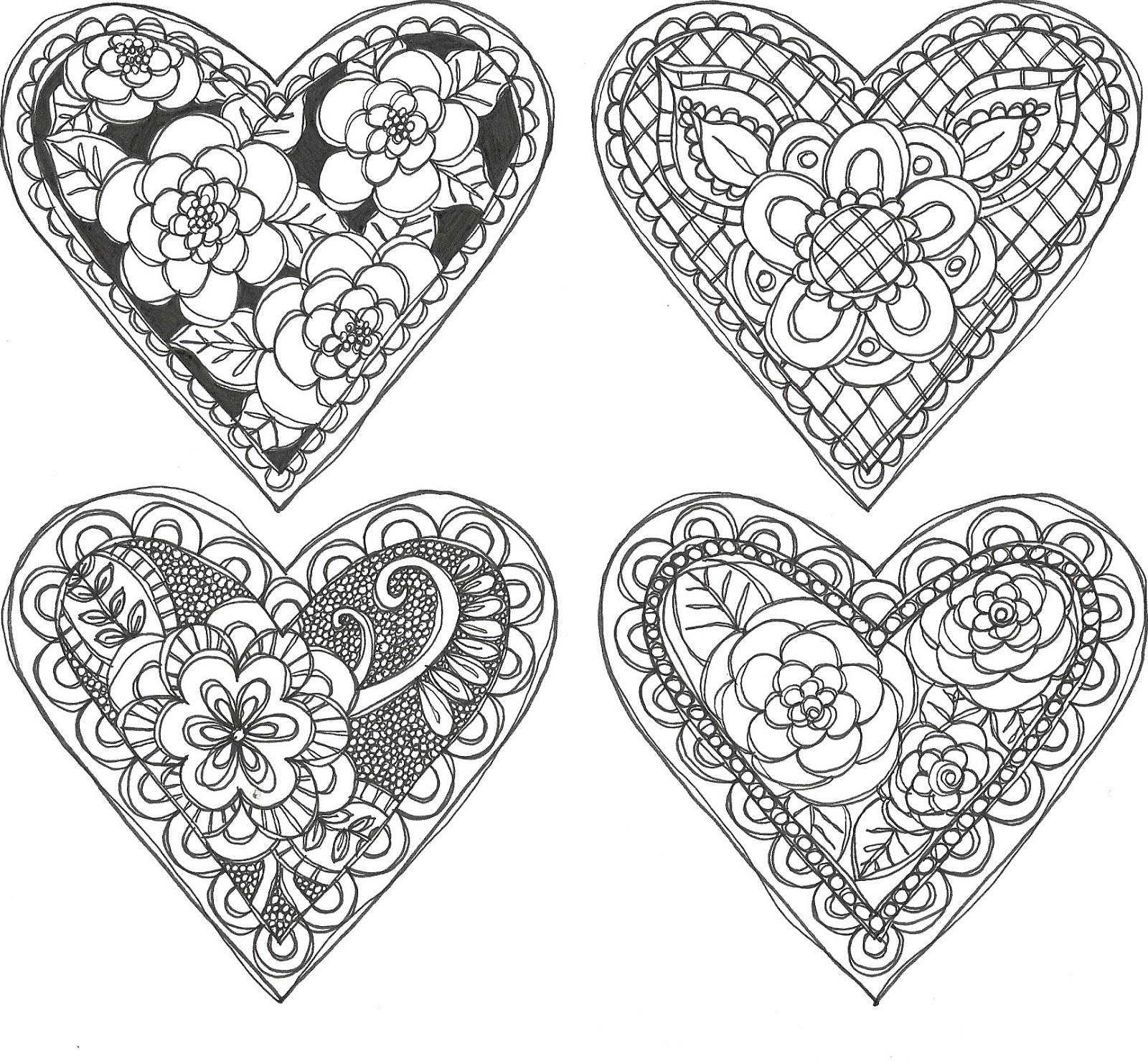 Pieces Of Me Doodle Valentines