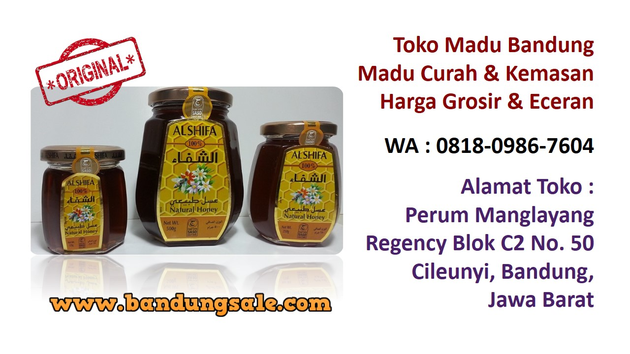 Supplier madu murni online bandung murah. Hubungi WA : 0818-0986-7604. Herbal-madu-asli-nya-berapa-bandung-murah
