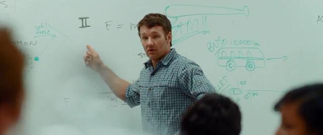 Brendan saat mengajar fisika di sekolah