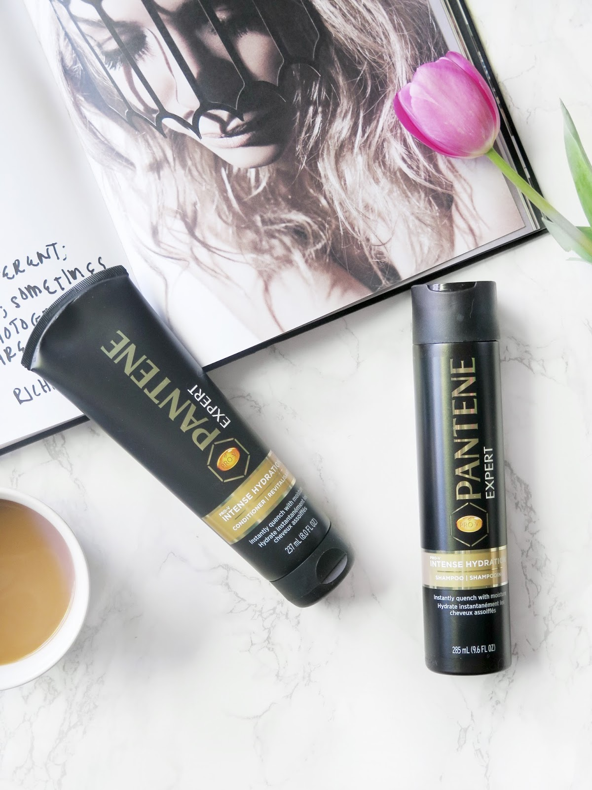Healthy Hydrated Hair For Spring With Pantene Expert | My Haircare Routine & Essentials | labellesirene.ca