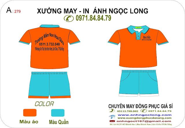 đồng phục mầm non Đà Nẵng