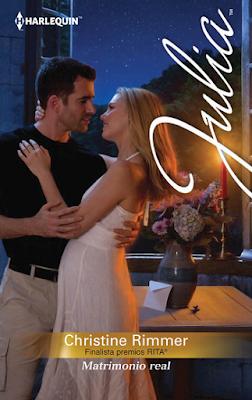 Novela Harlequin sobre una princesa embarazada (Encontrado) Matrimonio Real - Christine Rimmer Chris