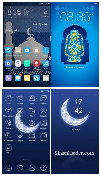 Huawei launches Ramadan Themes : How to Download and Use