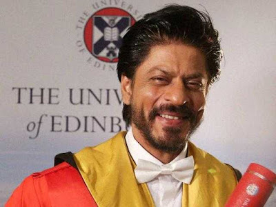 Shah Rukh Khan Received Honorary Doctorate