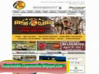 Online coupon code for bass pro shop