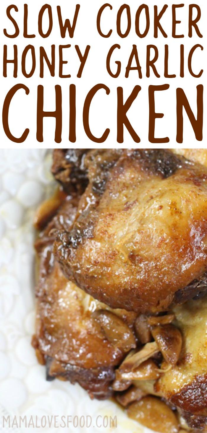 How to Make Honey Garlic Crockpot Chicken