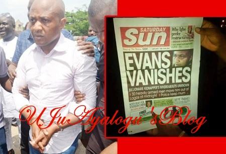 EVANS VANISHES Report: Nigerian Police Issues Statement