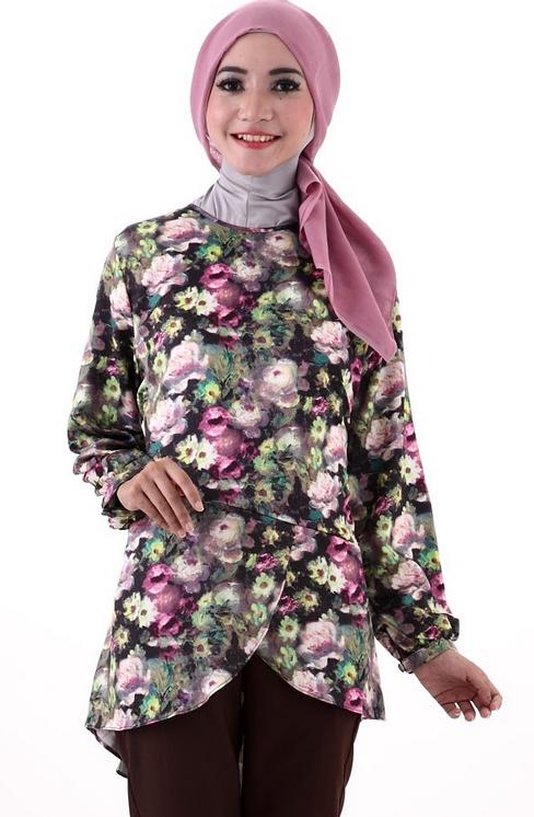 Model Baju Muslim Batik Gaul