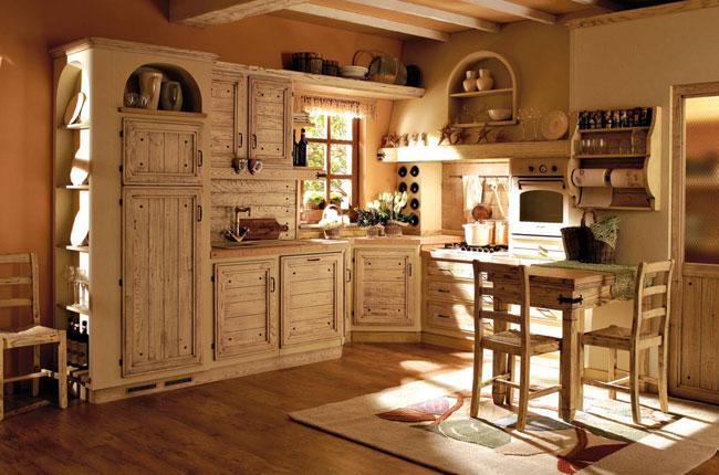 Muebles y decoraci n de interiores cocina r stica italiana for Cocina rustica que adorna la idea
