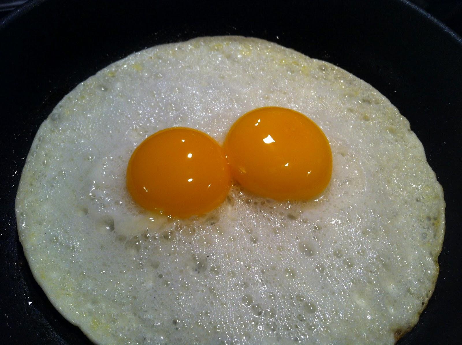 Perfect Sunny-Side Up Eggs Recipe — Dishmaps