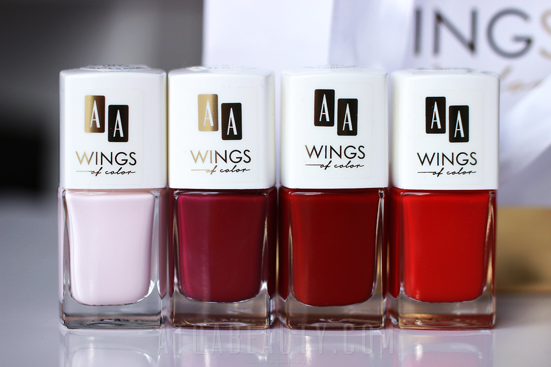 AA Wings of Color Oil Therpy Nail Lacquer