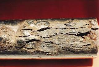 corrosao por esfoliacao em tubo de aco carbono