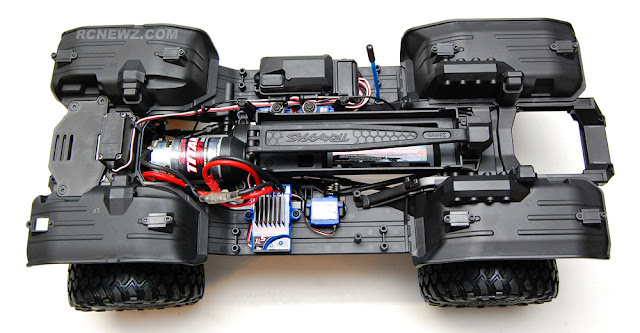 Traxxas TRX-4 chassis top