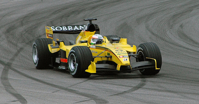 Gambar Mobil Balap F1 Jordan 01