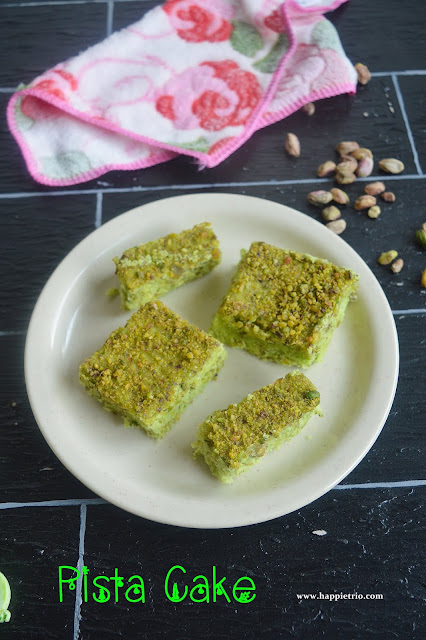 Pistachio Cake Recipe | How to make Pista Cake