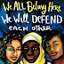 We All Belong Here-Resisting Racism & Bigotry