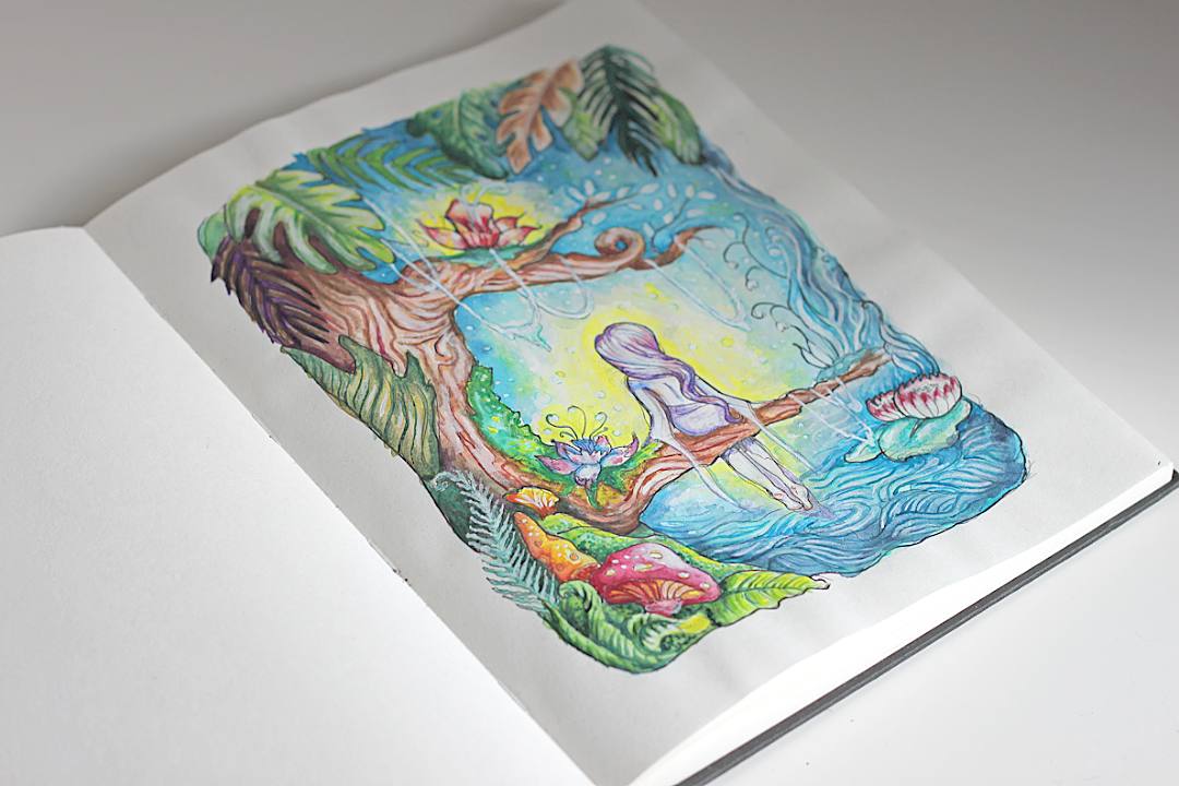 akwarele ilustracja akwarelowa sztuka