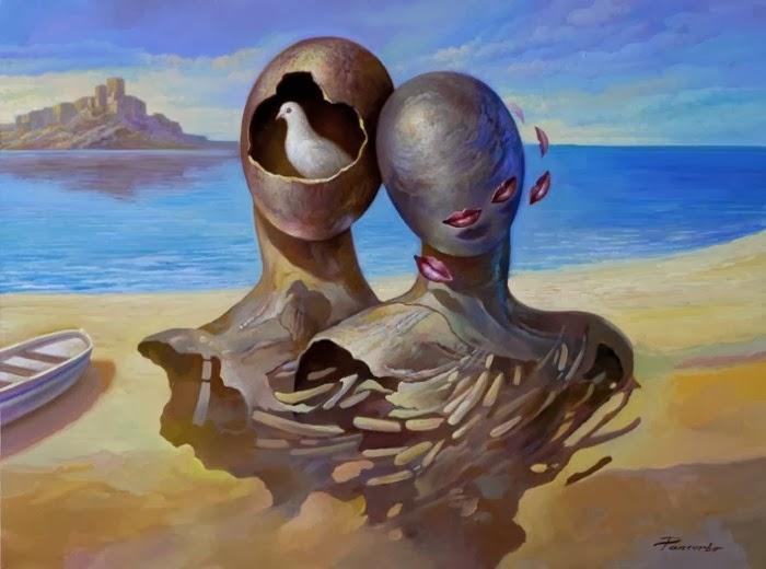 Испанский художник-сюрреалист. Alberto Pancorbo
