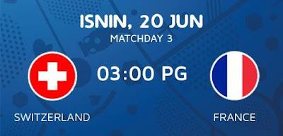 Switzerland Vs France EURO 2016